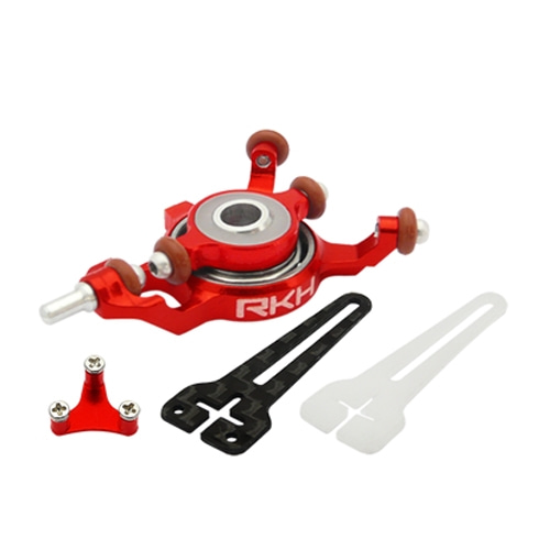엑스캅터 - CNC AL Advanced Swashplate Set (Red) - Blade mCPXBL
