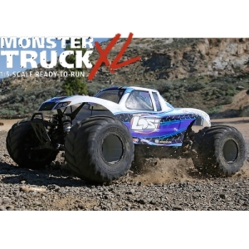 엑스캅터 - Losi Monster Truck XL 1/5 Scale RTR Gas Truck (White) 29cc 엔진 초대형가솔린 몬스터