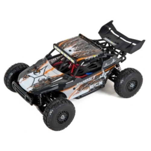 엑스캅터 - 1/18th Roost 4WD Desert Truck Black/Orange RTR[루스트 데저트버기]