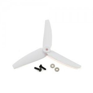 엑스캅터 - Tail Rotor Blade Set (2), White: 200 SR X,230s