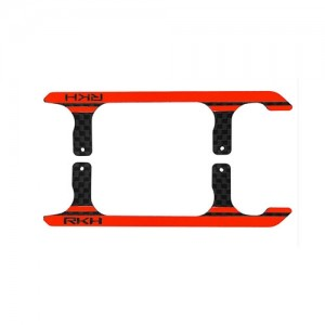엑스캅터 - CNC CF Landing Skid Set (Black-Red) (Spare parts for 180CFX721) - Blade 180 CFX