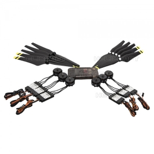 엑스캅터 - E600 (6*Motor/ESC; 5 pair props; Accessories pack)