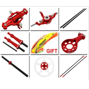 엑스캅터 - [200SRX 부품] CNC Combo Upgrade Kit (Red)