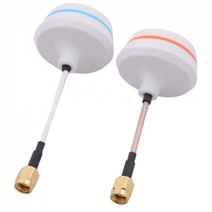 엑스캅터 - SMA 5.8GHz Circular Antenna Set(Tx/Rx)-Straight 머시룸 안테나