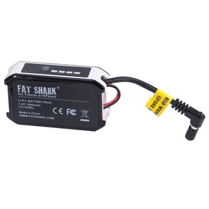 엑스캅터 - 팻샤크 FatShark 7.4V 1800mAh battery pack w/LED indicator FSV1803