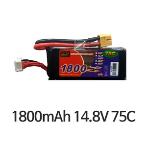 엑스캅터 - EP Power 1800mah 14.8V 75C XT60잭