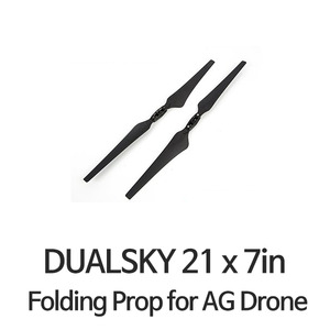 "엑스캅터 - [DUALSKY] 21x7.0"" MR Folding Prop for AG Drone"