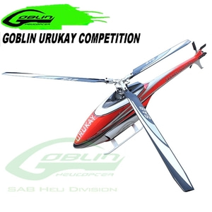 엑스캅터 - RC 헬기 SAB 고블린 URUKAY COMPETITION WHITE/RED