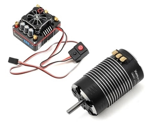 엑스캅터 - [최고급]Xerun XR8-PLUS ECS/4268SD 1900kv Black G2 Motor Combo set (1/8 Sensord모터변속기 세트)