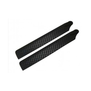엑스캅터 - 라콘헬리 108mm Plastic Main Blade (Black Carbon) - Blade mCP X/V2/S 옵션