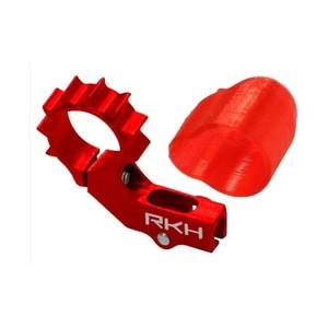 엑스캅터 - 라콘헬리 CNC AL 6mm Tail Motor Mount Set (for 2mm Tail Boom) (Red) - Blade mSR X/S, mCP X/V2/S 옵션