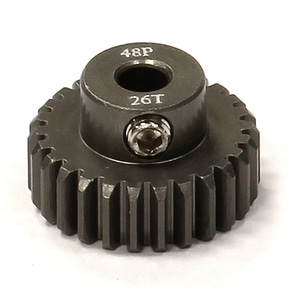 엑스캅터 - Billet HD Stainless Steel 48 Pitch Pinion 21T for Brushless w/ 0.125