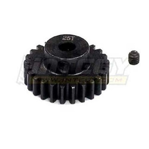 엑스캅터 - Billet Steel Pinion Gear 25T, 1M/5mm Shaft for 1/8 Off-Road & Savage Flux C23179