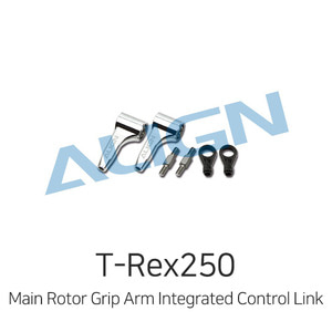 엑스캅터 - 얼라인 티렉스 250 DFC Main Rotor Grip Arm Integrated Control Link Set