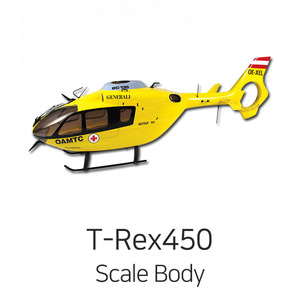엑스캅터 - 얼라인 EC-135 (450 Scale FRP Body) - Version.2