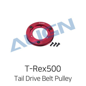 엑스캅터 - 얼라인 티렉스 500X Tail Drive Belt Pulley Assembly