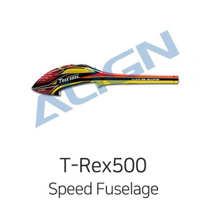 엑스캅터 - 얼라인 티렉스 500L Dominator Speed Fuselage(Red&Yellow)