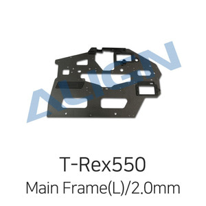 드론장 - 얼라인 티렉스 550L Carbon Fiber Main Frame(L)/2.0mm