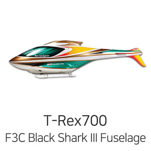 드론장 - 얼라인 티렉스 700 F3C Black Shark III Fuselage(Green/Gold/CQB) - 한정 판매!