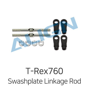 엑스캅터 - 얼라인 티렉스 800E DFC Swashplate Linkage Rod Set