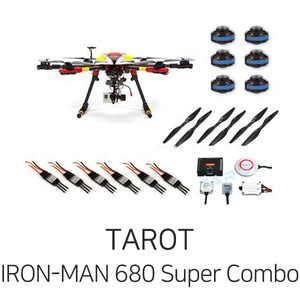 타롯 IRON-MAN 680 PRO HEXA COPTER Super Combo(ZYX-M/6S/Retractable) - 드론정보 & 쇼핑