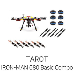 타롯 IRON-MAN 680 PRO HEXA COPTER Basic Combo(6S/Retractable)  - 드론정보 & 쇼핑