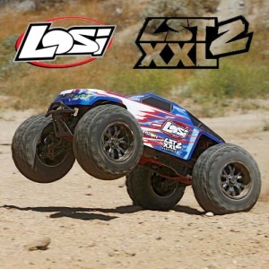 엑스캅터 - 1/8 LST XXL2 4WD 6S Brushless Monster AVC (100km/h+)