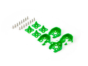 엑스캅터 - 타로 22xx Series Motor Protection Cover/Skid Set(4Set/Green)