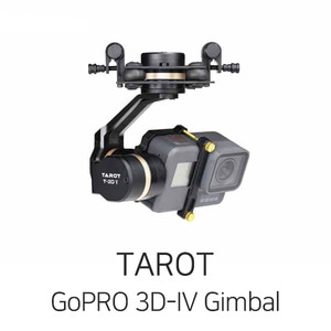 TAROT GoPRO 3D-IV Gimbal for Hero5/6 - 드론정보 & 쇼핑