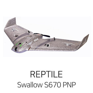 REPTILE Swallow S670 Flying Wing PNP - 드론정보 & 쇼핑