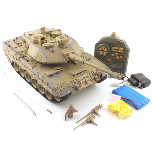 엑스캅터 - [27MHz] 1/18 27MHz US M60 R/C BB Shooting (YAK232008TAN) BB탄 슈팅탱크 M60 무선모형 RC