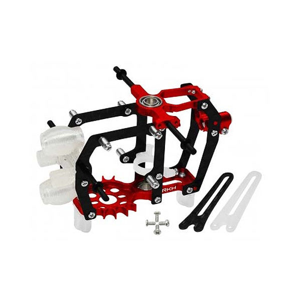 엑스캅터 - 라콘헬리 CNC AL Carbon Main Frame Set (Red) - Blade mCP S