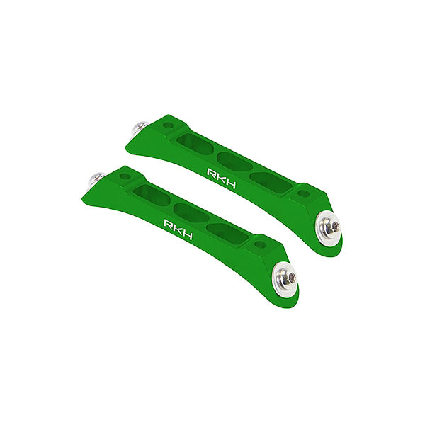 엑스캅터 - 라콘헬리 CNC AL Landing Gear Base Set (Green) - Blade 230 S 옵션