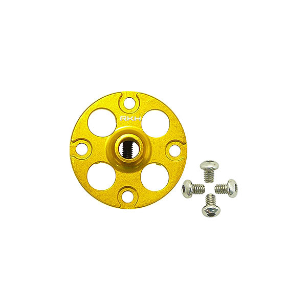 엑스캅터 - 라콘헬리 CNC AL Main Gear Hub Set (Gold) - Blade 230 S 옵션
