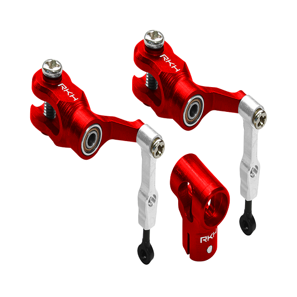 엑스캅터 - 라콘헬리 CNC AL DFC Head Combo (Red) - Blade mCP S