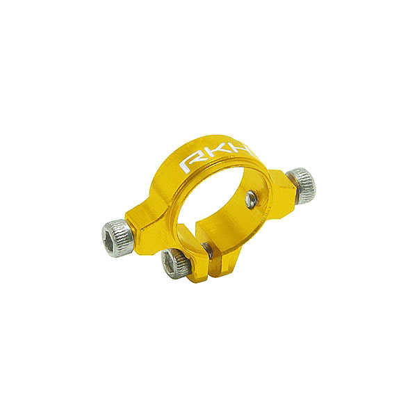 엑스캅터 - 라콘헬리 CNC AL Tail Boom Clamp Set (Gold) - Blade 230 S 옵션