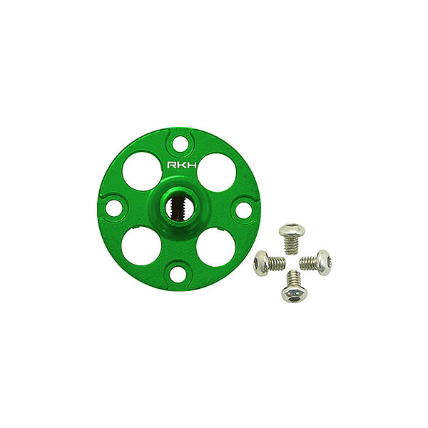 엑스캅터 - 라콘헬리  CNC AL Main Gear Hub Set (Green) - Blade 230 S 옵션