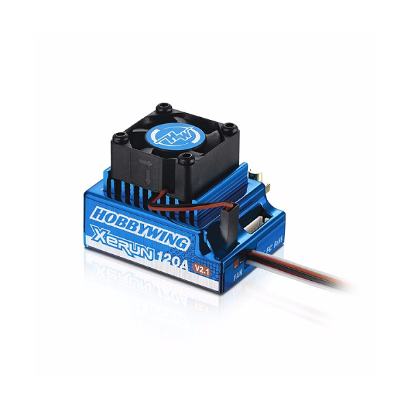 엑스캅터 - XERUN 120A SD V2.1 Brushless ESC Blue