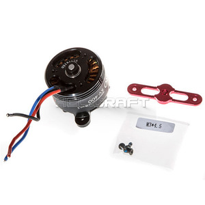 엑스캅터 - DJI S1000 4114 motor with red prop cover
