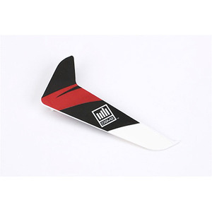엑스캅터 - 블레이드 120SR Vertical Fin with Red Decal (BLH3120R)